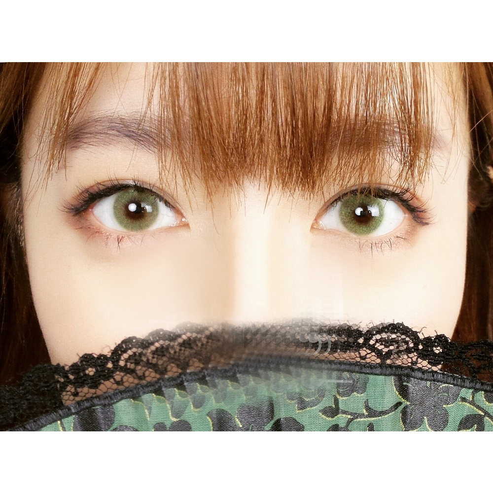 Enlarge Pupils Colored Contact Lenses HD Polar Lights (Green)