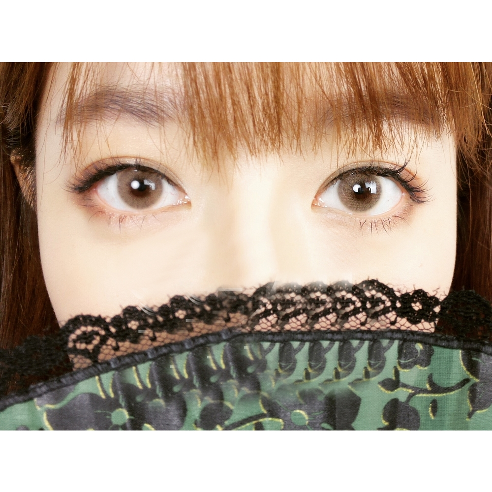 Enlarge Pupils Colored Contact Lenses HD Polar Lights (Brown)