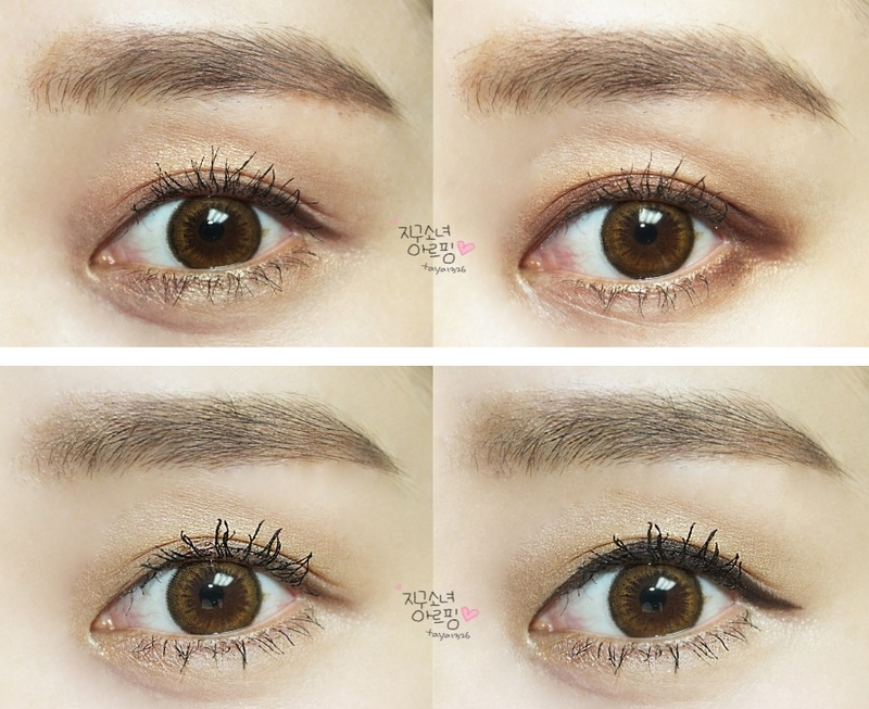 Soft Cosmetic Colored Contact Lenses Honey Brown Big Eye ...