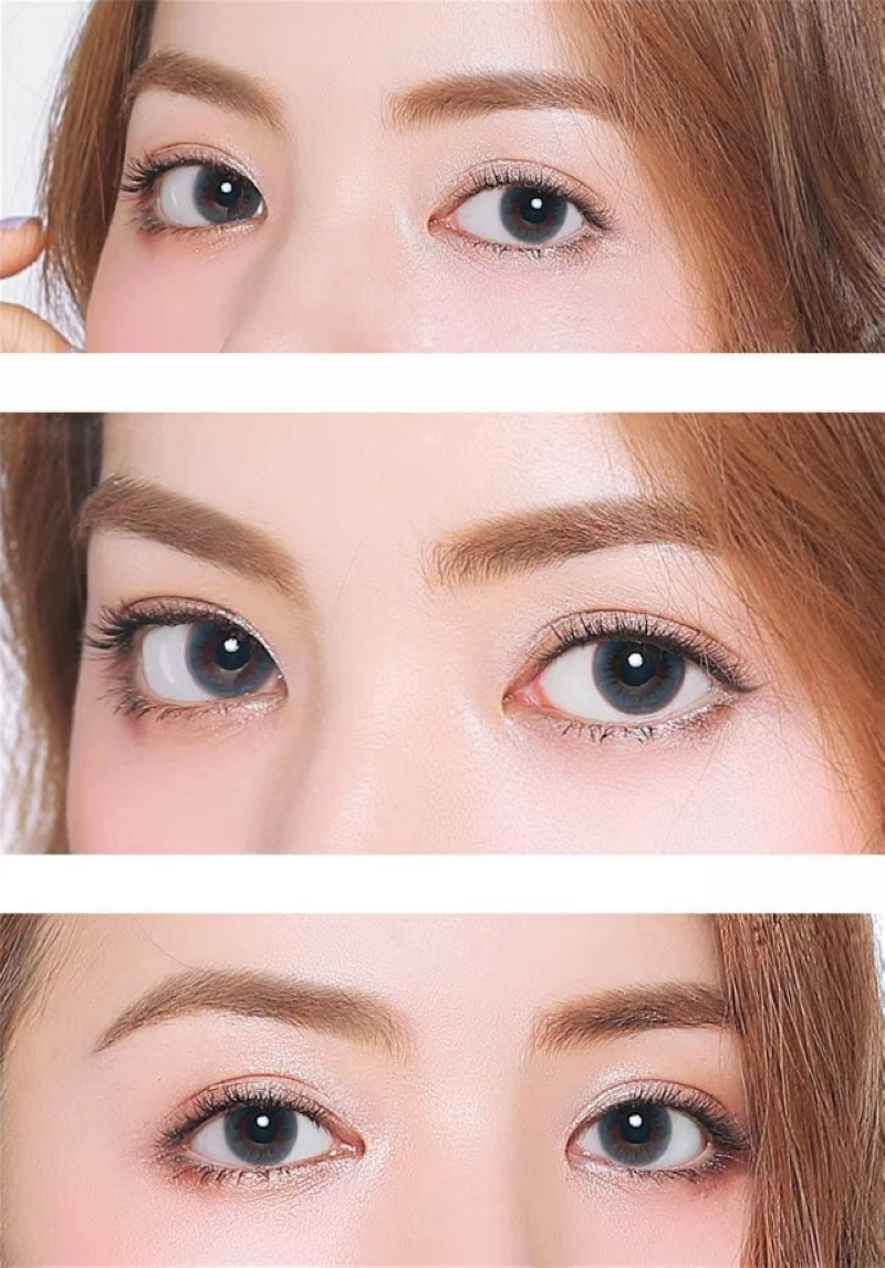 Colour Your Eyes Colored Contact Lenses Mohji Light Blue