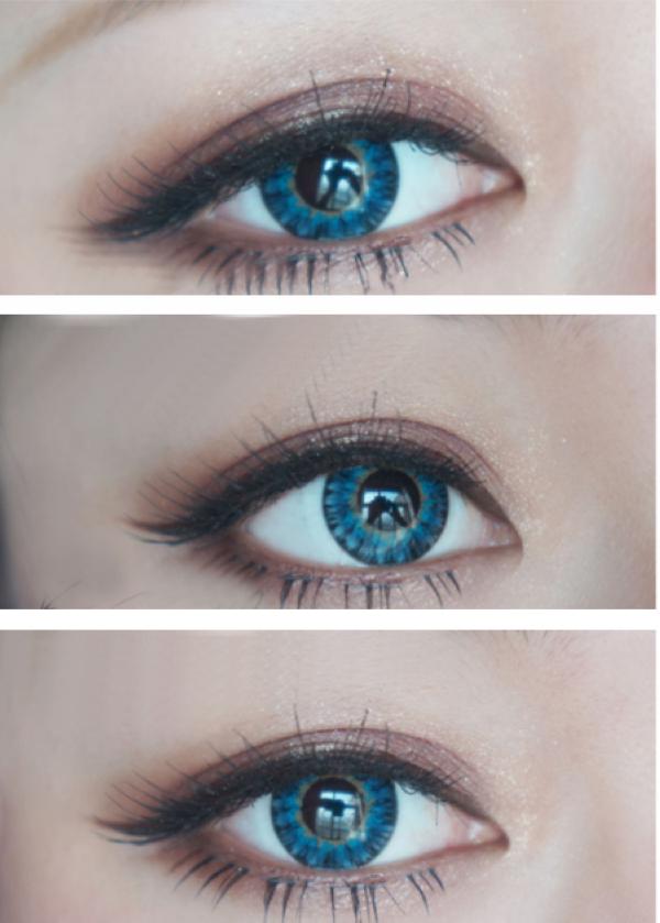 Soft Cosmetic Colored Contact Lenses Non-prescription ...